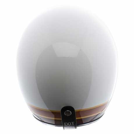 Torc Helmets Torc T-50 3/4 Open Face Helmet Iso Bars Gloss White M - 91-6130