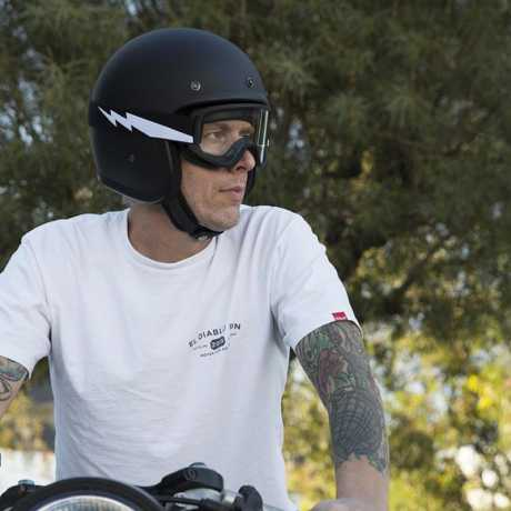 Biltwell Biltwell Moto 2.0 Goggles Bolts Black  - 956174