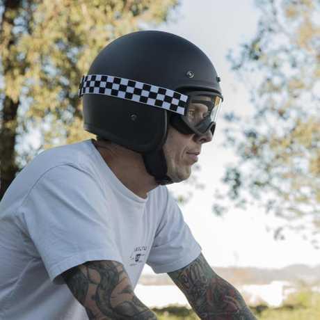 Biltwell Biltwell Moto 2.0 Goggles Checkers Black/White  - 956175