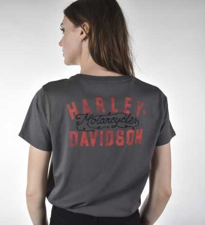 H-D Motorclothes Harley-Davidson women´s T-Shirt Motorcycles grey  - 96409-21VW