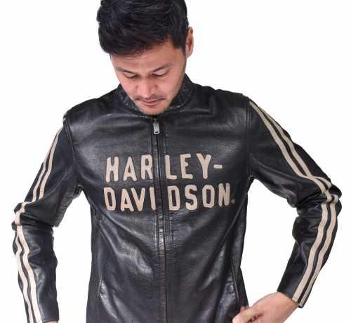 H-D Motorclothes Harley-Davidson Lederjacke Sleeve Stripe  - 97009-21VM