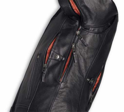 H-D Motorclothes Harley-Davidson Lederjacke Vanocker wasserdicht  - 98000-20EM