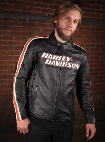 H-D Motorclothes Harley-Davidson Lederjacke Torque CE M - 98026-18EM/000M