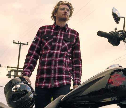 H-D Motorclothes Harley-Davidson Motorrad Hemd Arterial Abrasion-Resistant  - 98124-20EM