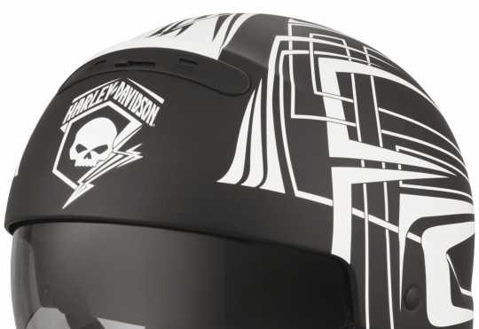 H-D Motorclothes Harley-Davidson Helm Skull Lightning 2-in-1 ECE  - 98297-19EX