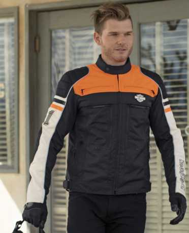 H-D Motorclothes Harley-Davidson Riding Jacket Metonga Switchback Lite M - 98393-19EM/000M