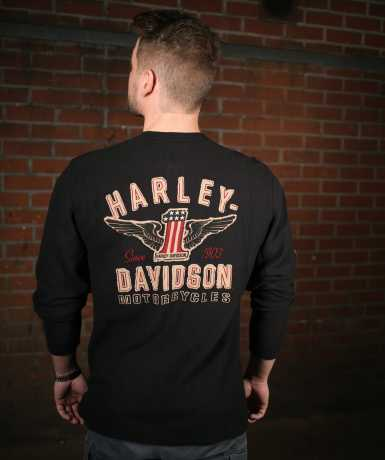 H-D Motorclothes Harley-Davidson #1 Genuine Classics Henley  - 99021-18VM