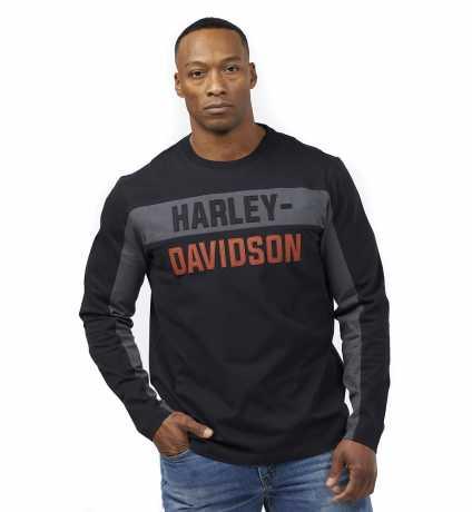H-D Motorclothes Harley-Davidson Longsleeve Copperblock Letter  - 99065-21VM