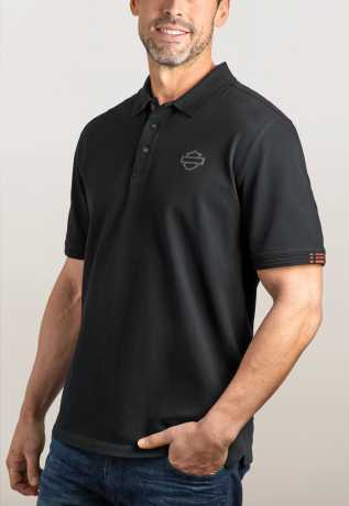 H-D Motorclothes Men's Stretch Piqué Polo M - 99148-19VM/000M
