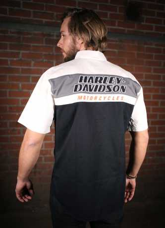 H-D Motorclothes Men's H-D Racing Colorblock Shirt  - 99166-19VM