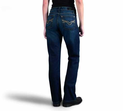 H-D Motorclothes Harley-Davidson Boot Cut Embellished Mid-Rise Jeans  - 99176-16VW