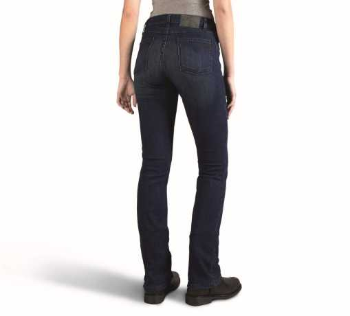 H-D Motorclothes Harley-Davidson Slim Boot Cut Mid-Rise Jeans, blue  - 99179-16VW