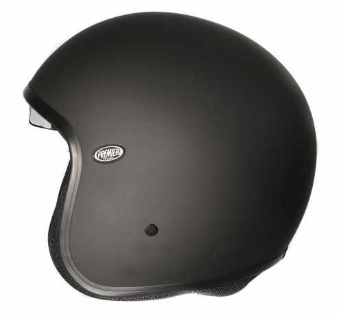 Premier Helmets Premier Vintage Jethelmet U9 black matt  - APFJ11JVU9MV