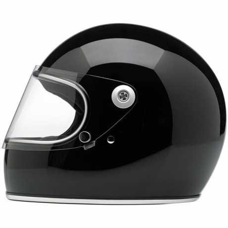 Biltwell Biltwell Gringo S Helm DOT schwarz  - 60-7365V