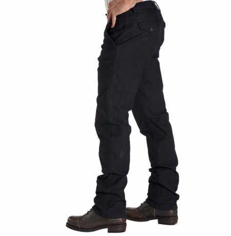 Rokker Rokker Chino Black Biker Jeans  - CHINO BLACK-V