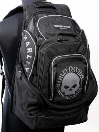 H-D Motorclothes Harley-Davidson Skull Delux Back Pack  - BP1924S-BLACK