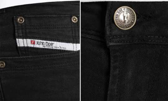John Doe John Doe Original Jeans black used  - JDD2009
