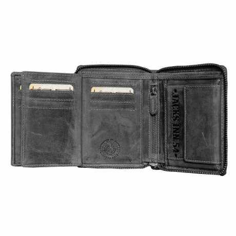 Jack's Inn 54 Jack's Inn 54 Bullshot Wallet black  - LT541211-01