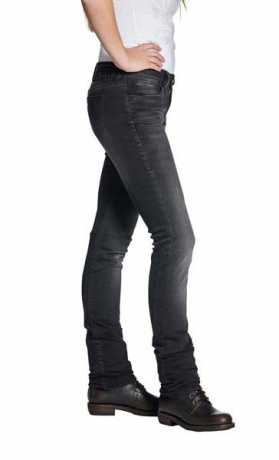 Rokker Rokker The Donna Women´s Biker Jeans black  - ROK2401V
