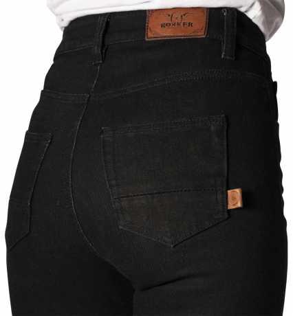 Rokker Rokkertech High Waist women´s Jeans black  - ROK2414