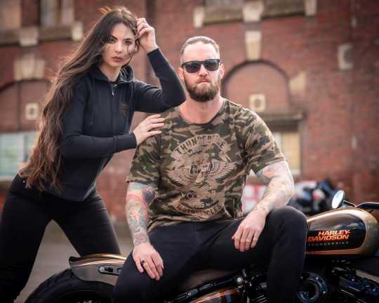 Thunderbike Clothing Thunderbike T-Shirt Speed Skull Olive 3XL - 19-31-1116/222L