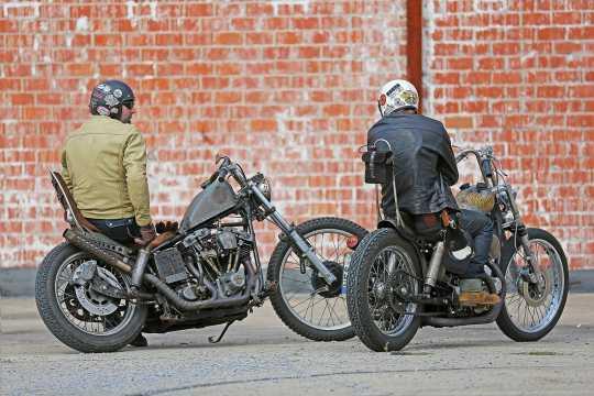 Thunderbike Clothing Thunderbike Lederjacke Custom, vintage beige  - 19-60-330V