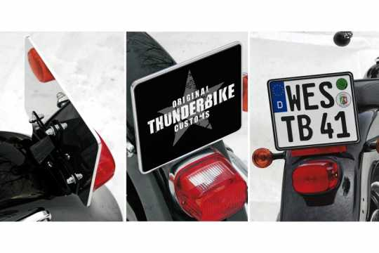 Thunderbike License Plate Holder aluminium  - 28-99-410V