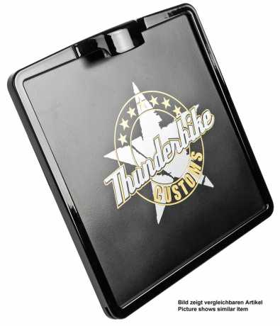 Thunderbike License Plate Frame Inside Plate 21x17cm (AT) | polished - 28-98-010