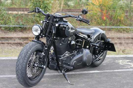 Thunderbike Fußrastenanlage Base Rubber schwarz - 31-72-221