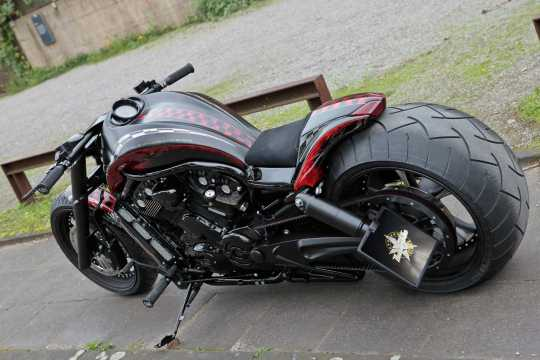 Thunderbike Fußrastenanlage Base Rubber  - 31-73-110V