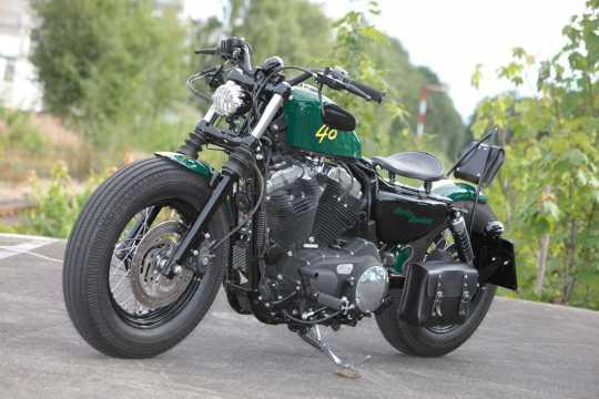 Thunderbike Fußrastenanlage Base Rubber  - 31-76-100V
