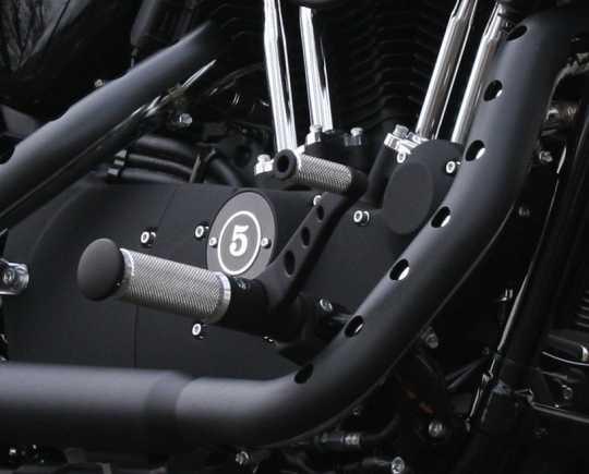 Thunderbike Forward Control Kit Base Alu black  - 31-76-141