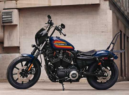 Harley-Davidson Bobber Solo Saddle distressed black  - 52000277