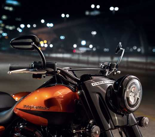 Harley-Davidson Hollywood Handlebar gloss black  - 55800579