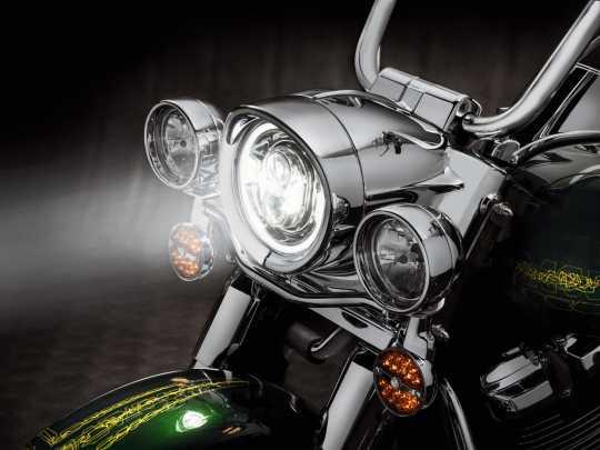 "Harley-Davidson Daymaker 7"" Projector LED Headlamp chrome  - 67700433A"