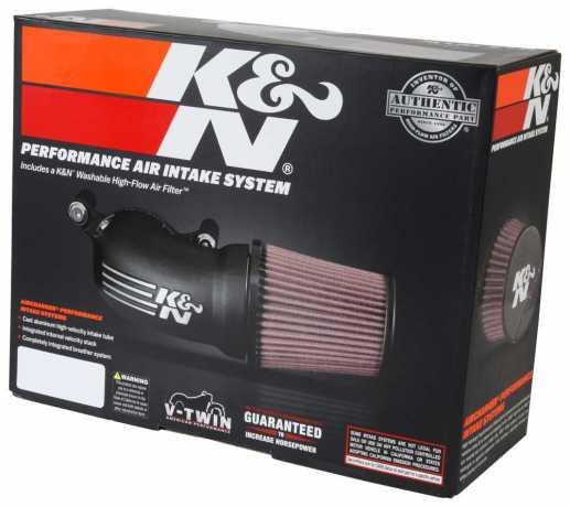 K&N K&N Air Charger Luftfilter, matt schwarz  - 89-6763