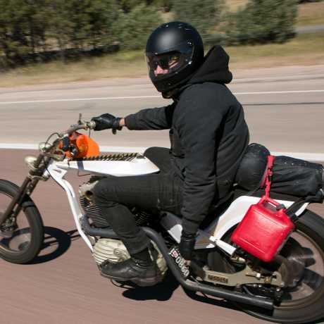 Biltwell Biltwell Gringo S Helmet ECE, Flat Black  - 569610V
