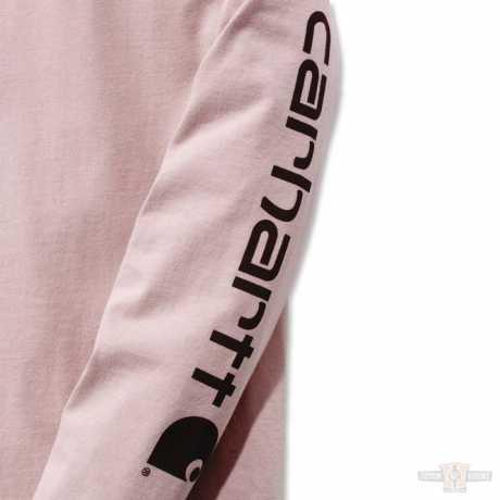 Carhartt Carhartt Damen Longsleeve Workwear Sleeve Logo rosa  - 91-4981V