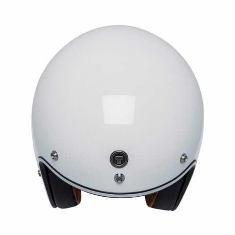 Torc Helmets Torc T-50 3/4 Open Face Helmet Iso Bars Gloss White  - 91-6128V