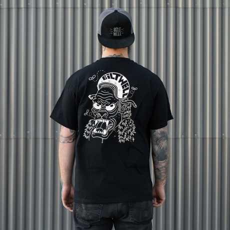 Biltwell Biltwell Go Ape T-Shirt black  - 913529V