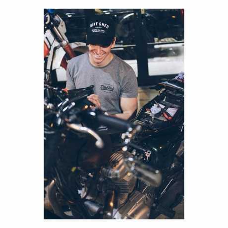 BSMC BSMC Bike Shed Estd Trucker Cap schwarz  - 914906