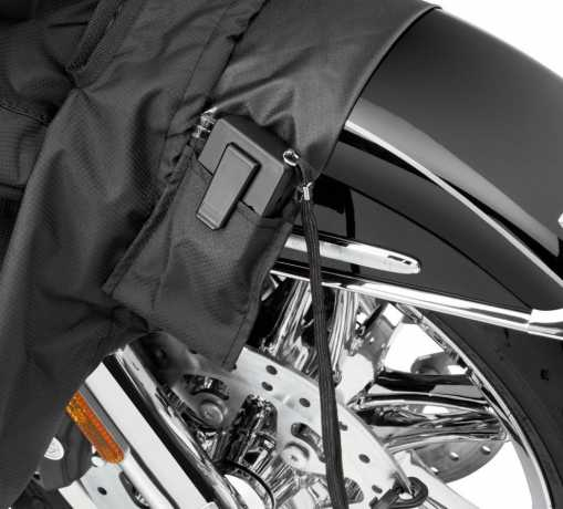 Harley-Davidson Indoor/Outdoor Motorcycle Cover, orange & black  - 93100040