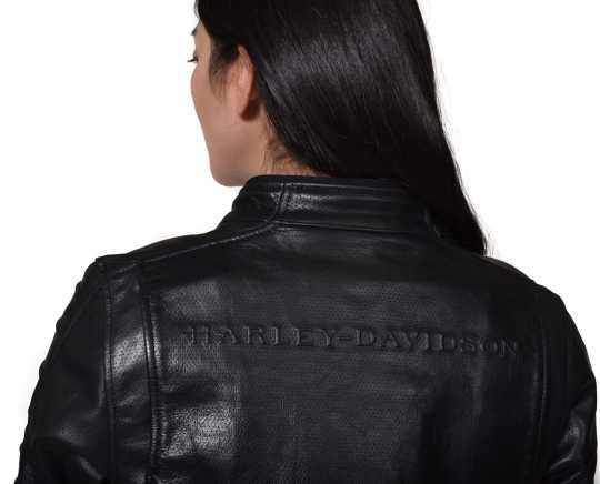 H-D Motorclothes Harley-Davidson women´s Leather Jacket Ozello black  - 98008-20EW