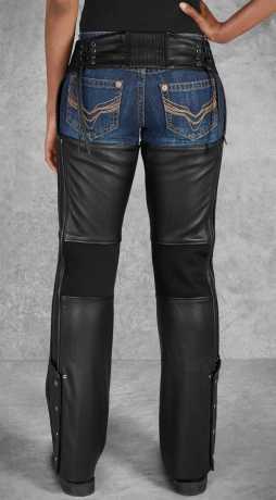 H-D Motorclothes Harley-Davidson Damen Leder Chaps Deluxe II M | lang - 98046-19VL/000M