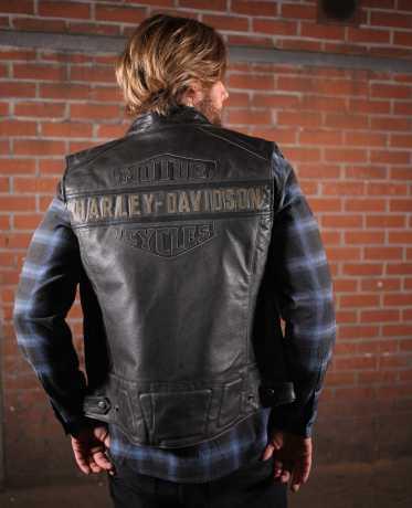 H-D Motorclothes Harley-Davidson Passing Link Leather Vest M - 98109-16VM/000M