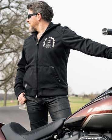 H-D Motorclothes Harley-Davidson Biker Zip Hoodie Arterial black  - 98148-20EM