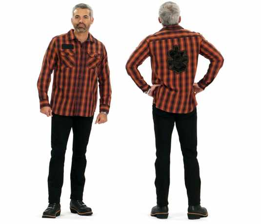 H-D Motorclothes Harley-Davidson Shirt Oak Leaf, plaid  - 99010-18VM