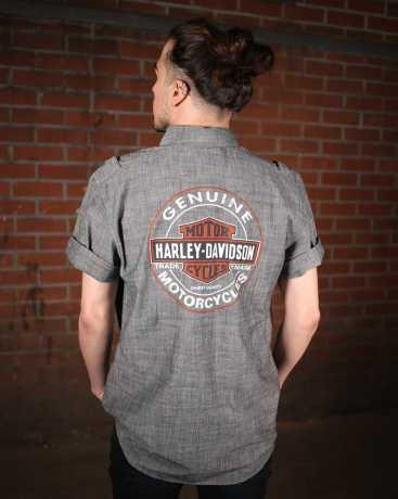 H-D Motorclothes Harley-Davidson Hemd Genuine Oil Can 2XL - 99068-18VM/022L
