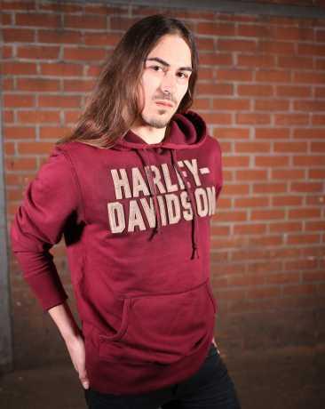 H-D Motorclothes Harley-Davidson Hoodie Felt Lettering  - 99180-19VM