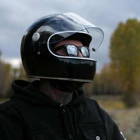 Biltwell Biltwell Gringo S Helmet DOT Gloss Black M - 60-7367
